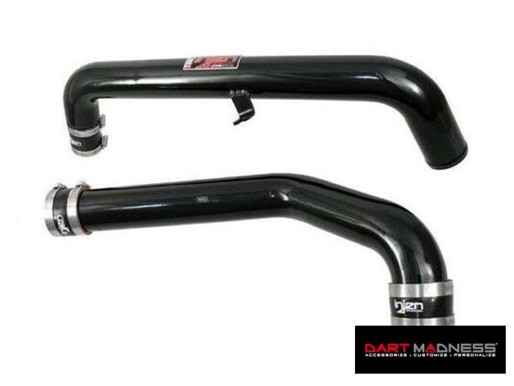Dodge Dart Intercooler Hot/ Cold Pipes - Injen - Black