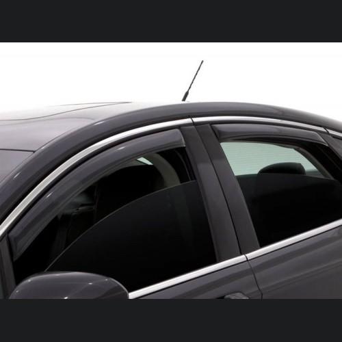 Dodge Dart Side Window Air Deflectors - 4 Piece Set - In-Channel Mount