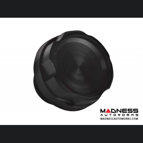 Dodge Dart Oil Cap - Black Anodized Billet