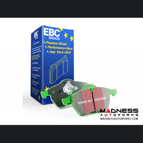 Dodge Dart Brake Pads - EBC - Front - Green Stuff