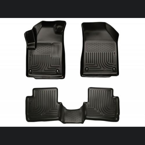 Dodge Dart Floor Liners - All Weather -- Husky - WeatherBeater - Front + Rear