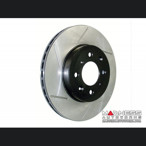 Dodge Dart Performance Brake Rotor - StopTech - Slotted - Front Left