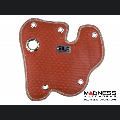 Dodge Dart Thermal Turbo Blanket - 1.4L Turbo - SILA Concepts - Red Silicone/ Fiberglass