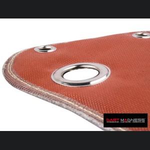 Dodge Dart Thermal Turbo Blanket - 1.4L Turbo - SILA Concepts - Red Silicone/ Fiberglass
