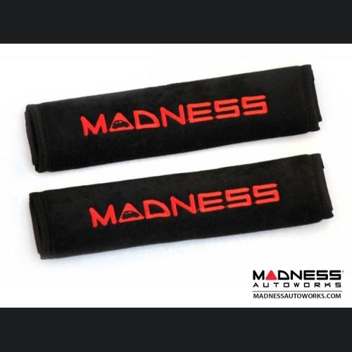 Seat Belt Shoulder Pads - MADNESS Logo